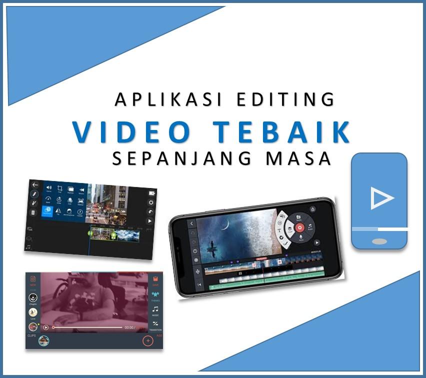Aplikasi edit video terbaik di hp