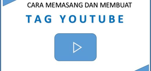 Cara membuat tag di youtube