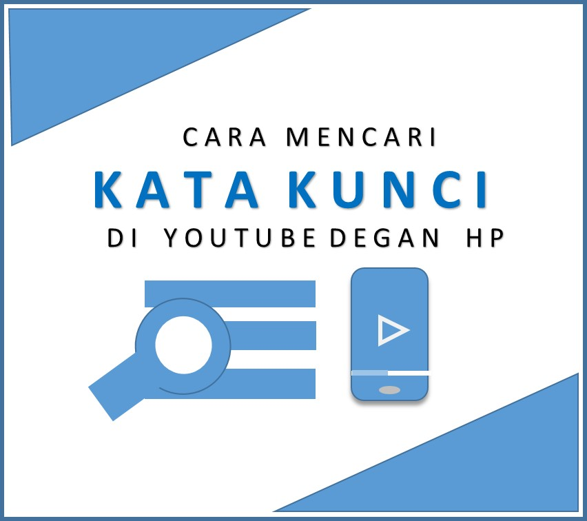 Cara mencari kata kunci youtube