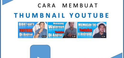 cara membuat thumbnail youtube