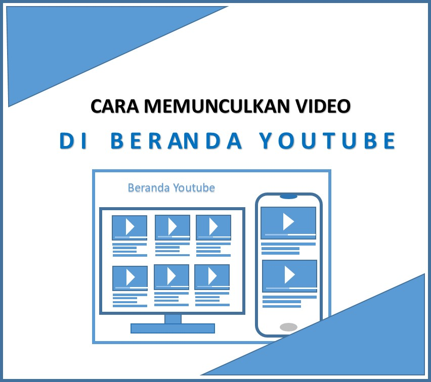 Cara Munculkan Video di Beranda Youtube