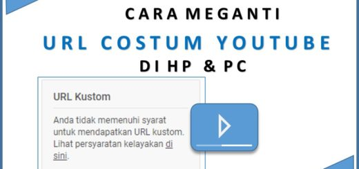 Cara Mengganti URL Custom Channel Youtube di HP dan PC
