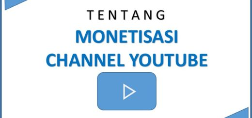 Tentang Monetisasi Channel Youtube