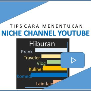 Tips Cara Menentukan Niche Channel Youtube
