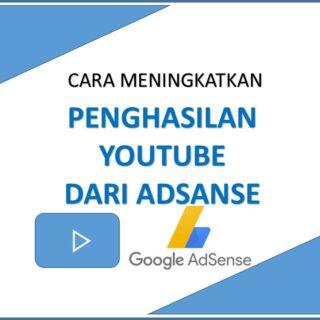 cara meningkatkan penghasilan youtube