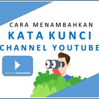 memberikan kata kunci channel youtube