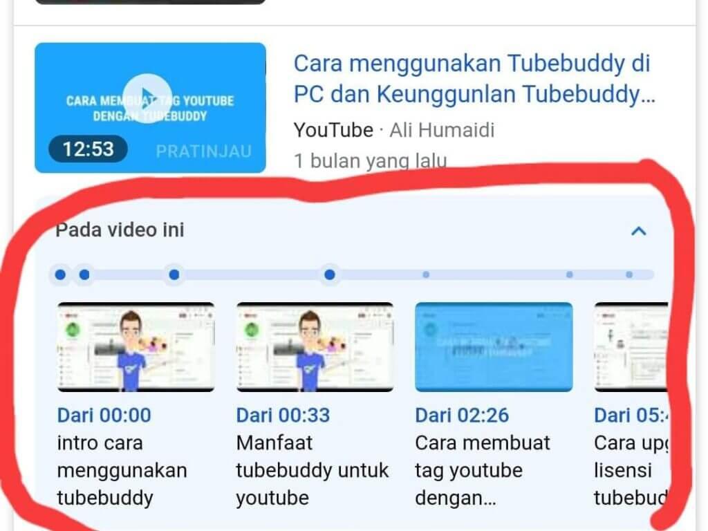 Cara Menampilkan video YouTube di penelusuran Google
