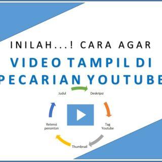 Cara Agar Video Tampil di Pencarian Youtube