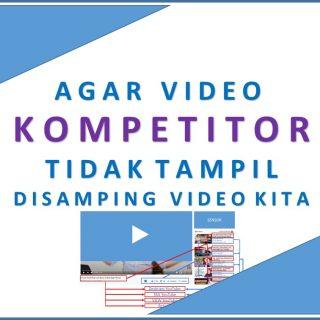 Cara Menghindari video Kompetitor YouTube
