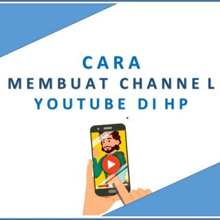 cara membuat channel youtube di hp